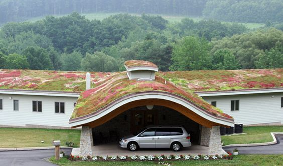Your green roof doesn't even have to be green!  www.whitefence.com