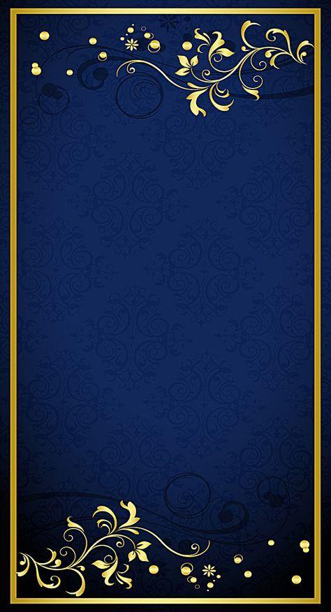 Gold Pattern Shading Background Invitation Background Wedding