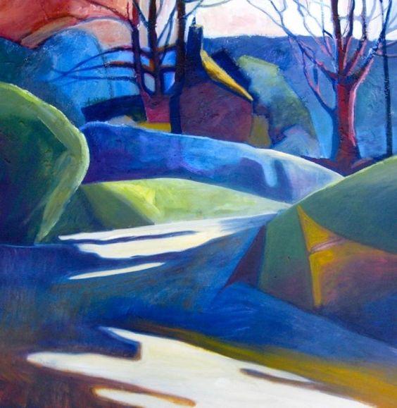 Aller lane by Sue Fawthrop