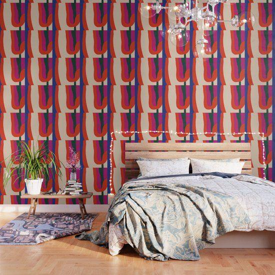 Permeability Wallpaper By Caligrafica Society6 Wallpaper Pattern Wallpaper Home Decor