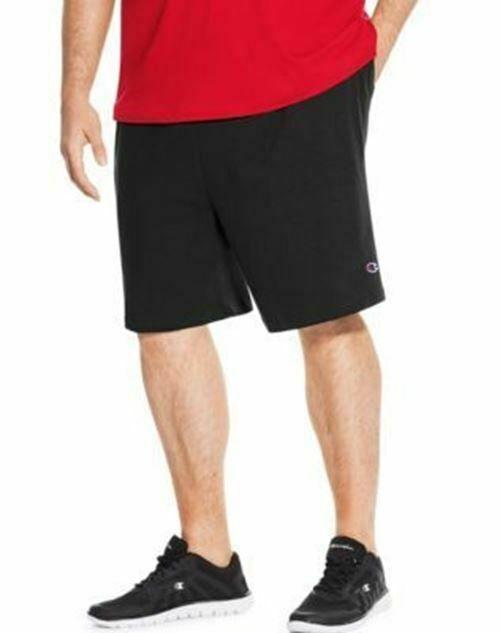 Champion Mens Big-Tall Jersey Shorts