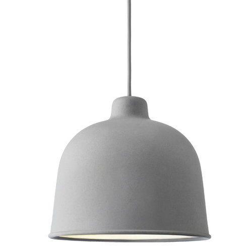 Muuto Grain Pendant Grey Pendant Light Light Muuto
