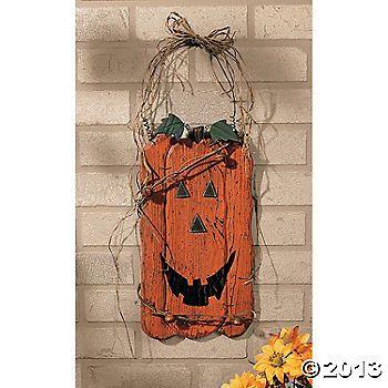 Jack-O'-Lantern Wall Hanging