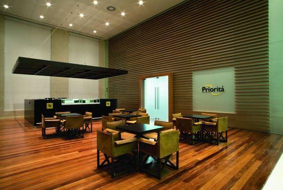 espaço para café - MSC – Edifício em Santos – arq. Mirele Busko