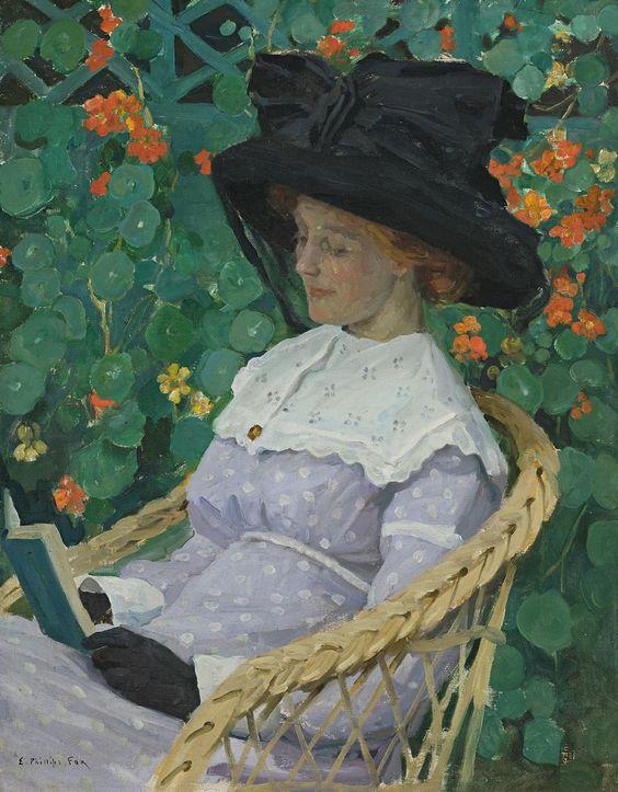 Настурции (1912). Эмануэль Филлипс Фокс (австралийский,  1865-1915).