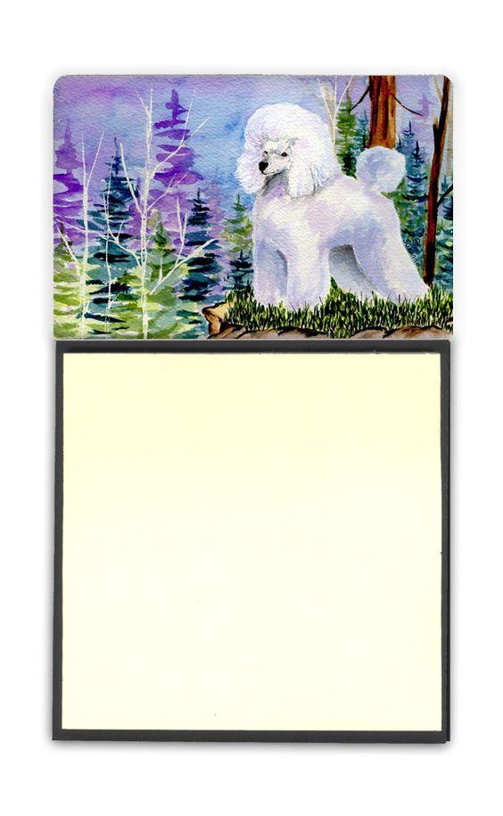 Poodle Refiillable Sticky Note Holder or Postit Note Dispenser SS8639SN