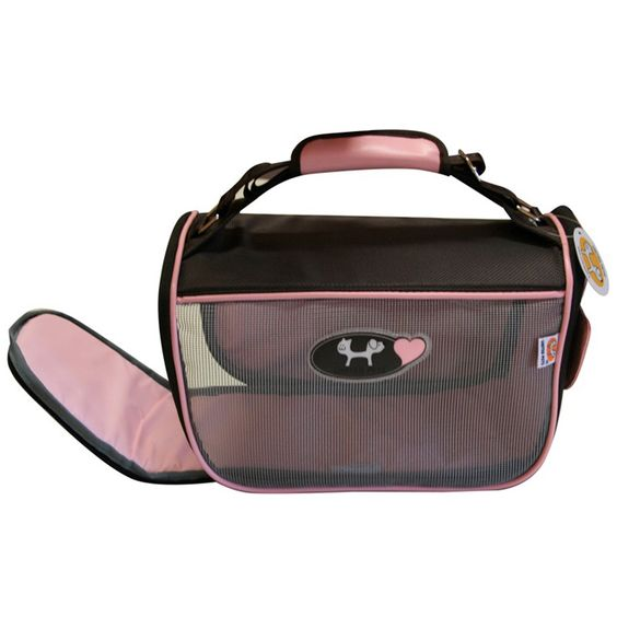MINI DOGGY BAG - BORSA PORTA CANE ROSA