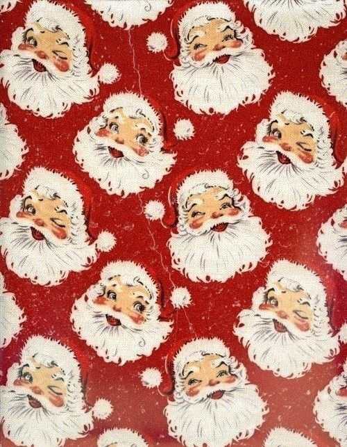 Christmas Wallpaper Iphone Vintage Santa With Images Christmas