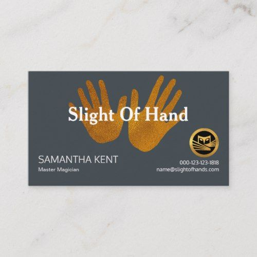 Magician Magical Hands Party Planner Business Card Zazzle Com Party Planner Business Party Planner Business Cards Party Planner