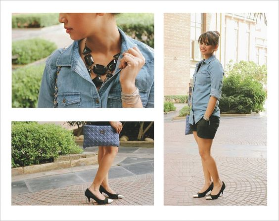 New blog post is updated - Summery Afternoon: Chambray Shirt and Black Shorts http://fashionbyruda.com/index.php/blogs/page?bid=2b44928ae11fb9384c4cf38708677c48  Check out the pairing of chambray shirt for a cool summery afternoon look. I hope you will like it.