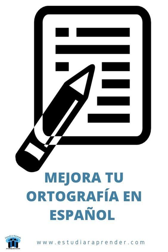 mejora tu ortografía en español