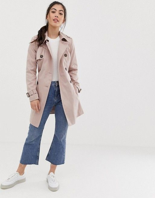 shoes for cheap factory price website for discount ASOS DESIGN Petite trench coat | ASOS | L O O K S in 2019 ...