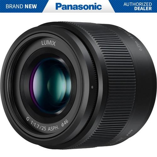 Panasonic Lumix G 25mm F 1 7 Asph Lens Black H H025k In 2021 Mirrorless Camera Best Camera Lenses Panasonic Lumix