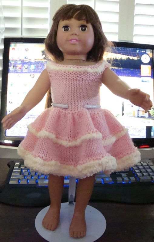 Knitted Dolls Clothes Patterns Free Gallery Knitting Patterns Free
