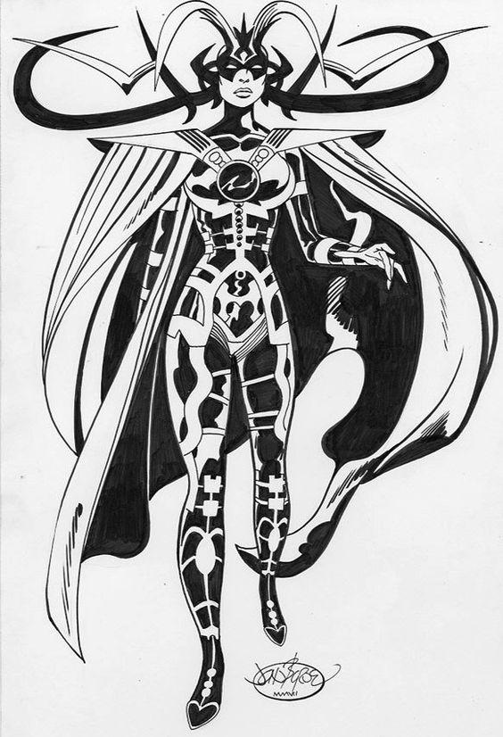 Pin By Joseph Johnson On Marvel Women Comic Books Art Marvel Coloring Thor Art