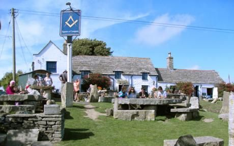 Arguably the best pub in England - The Square and Compass, Worth Matravers became an alehouse in 1776