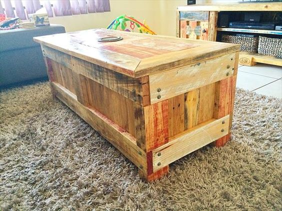 Pallet Coffee Table With Matching Tv Cabinet Wooden Pallet Furniture Pallet Luv Pinterest