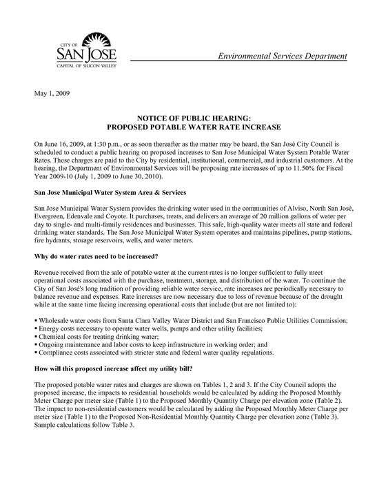 Sample Rent Increase Letter Espanol by oik20362 - rent increase - notice to tenants template