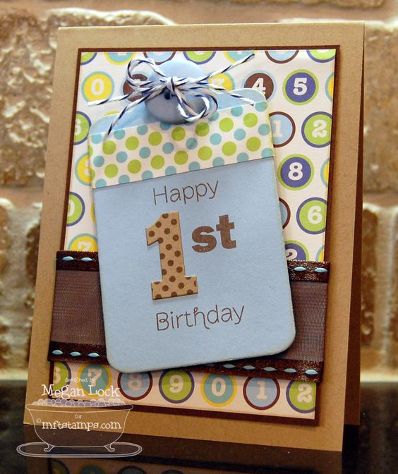 card by ...  http://meganlockdesigns.blogspot.com/search?updated-max=2011-08-02T23%3A00%3A00-05%3A00=7: Paper Crafts Scrapbooking, 05 3A00Max, Baby Cards, Baby Kid Cards, Birthday Cards, Card Ideas, Cards Kids, Card Gift Making