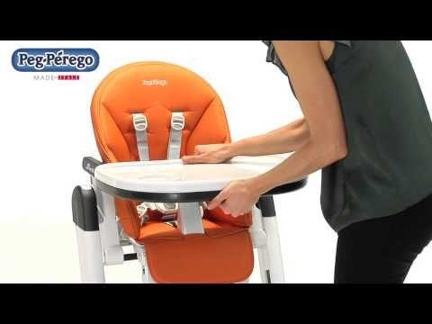 Chaise-haute SIESTA de PEG PEREGO - YouTube