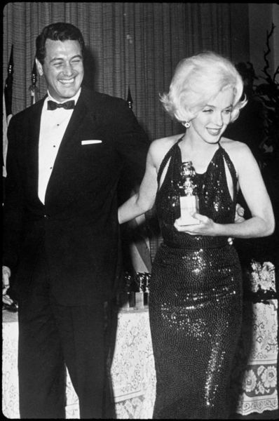 Marilyn Monroe and Rock Hudson
