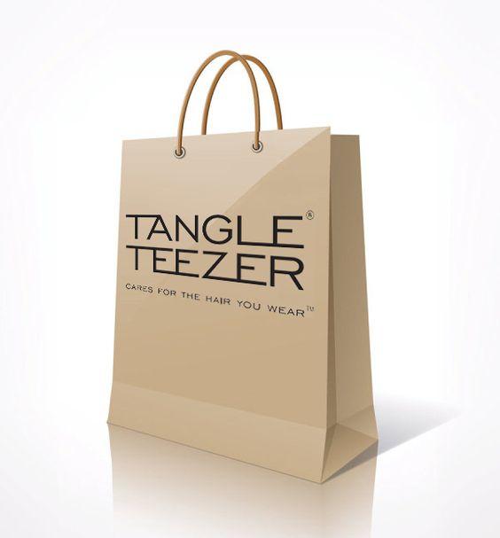 Tangle Teezer Paper Shopping Bag.