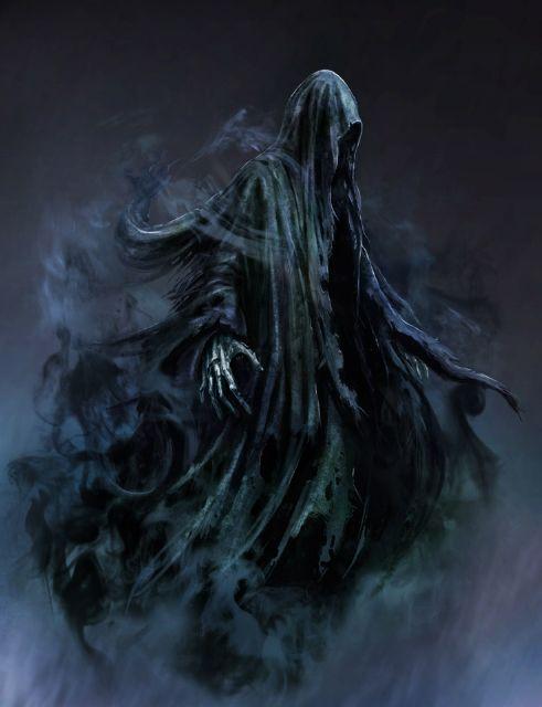 Harry Potter Dark Creatures Harry Potter Dementors Dark Fantasy Art