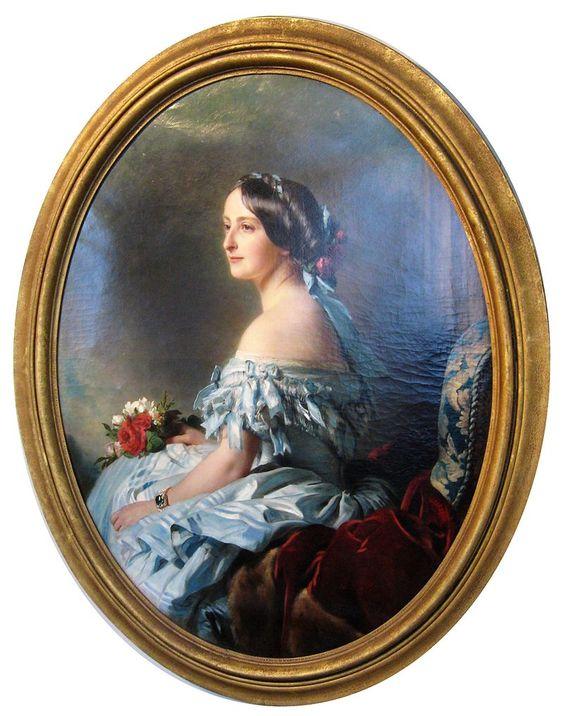 Menzenschwand Winterhalter Portrait einer Dame - Category:Female portraits by Winterhalter - Wikimedia Commons