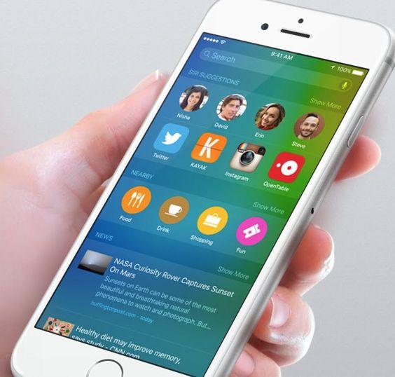 iOS 9 piace agli utenti è installato ogni due dispositivi su tre