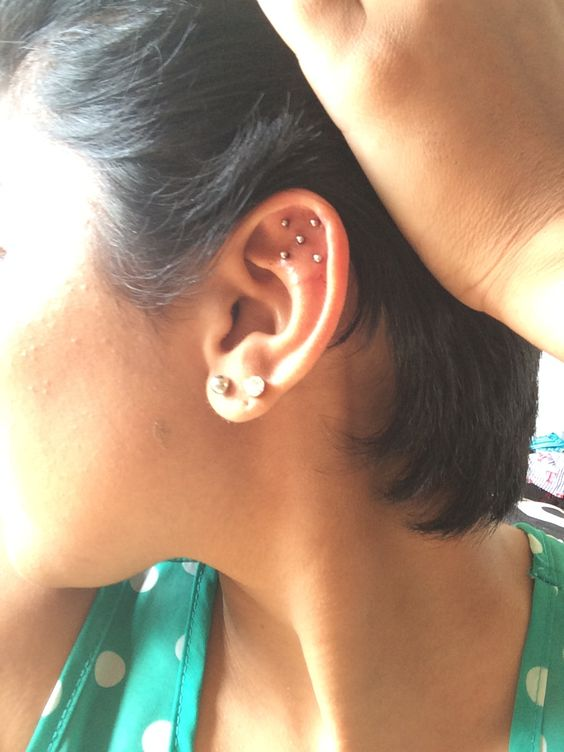 Unique Ear Piercings.