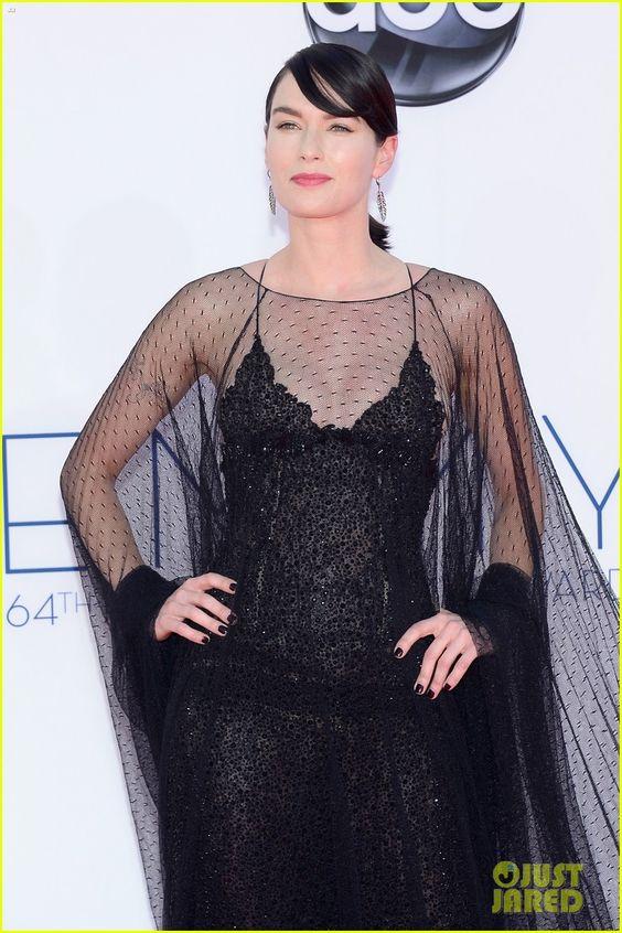 Lena Headey - Emmys 2012 Red Carpet