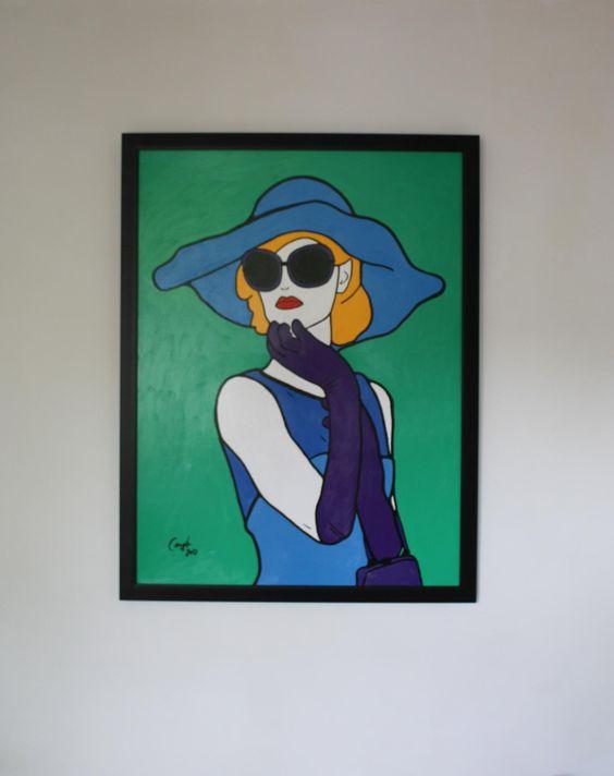 Marylebone Cover Girl  by Emma Coyle