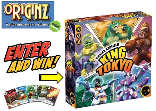 Win a copy of the board game King of Tokyo! {WW} (9/30/16) via... sweepstakes IFTTT reddit giveaways freebies contests
