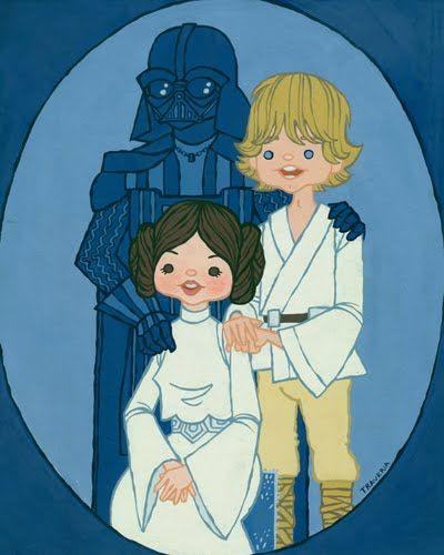 alicia policia: Skywalker Family Portrait