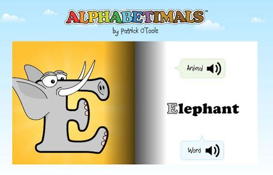 Alphabetimals.