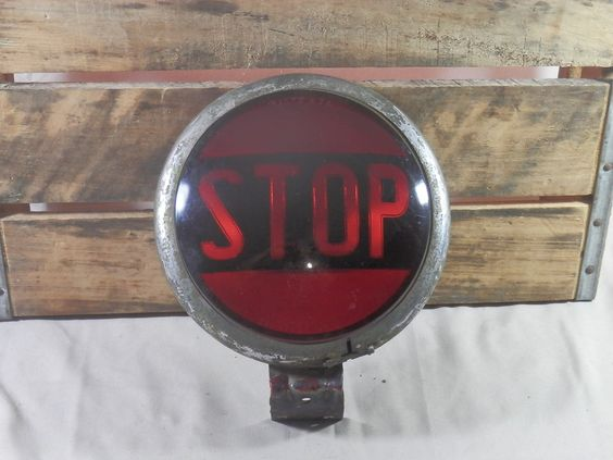 vintage tail light bar