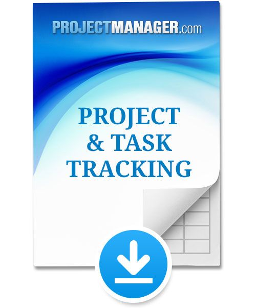 Task Tracking Template Project Tracking Excel Online Template