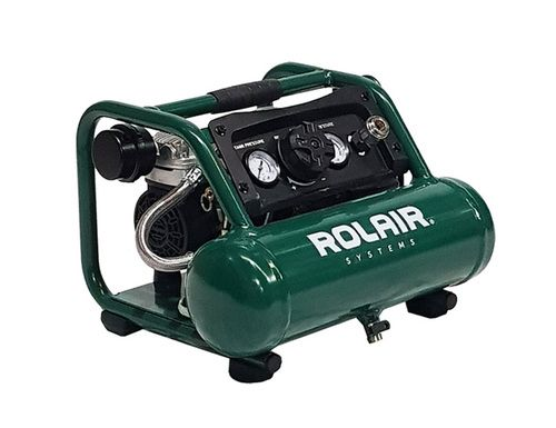 Rolair Ab5 Quiet Oil Free Hand Carry Air Compressor 1 2hp 5ltr Air Compressor Quiet Air Compressor Compressor