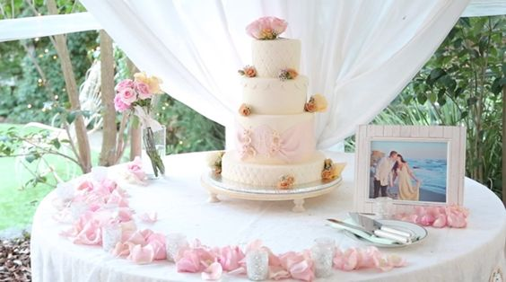 Real Weddings - Cute Cakes | Wedding Cakes and Desserts in San Diego