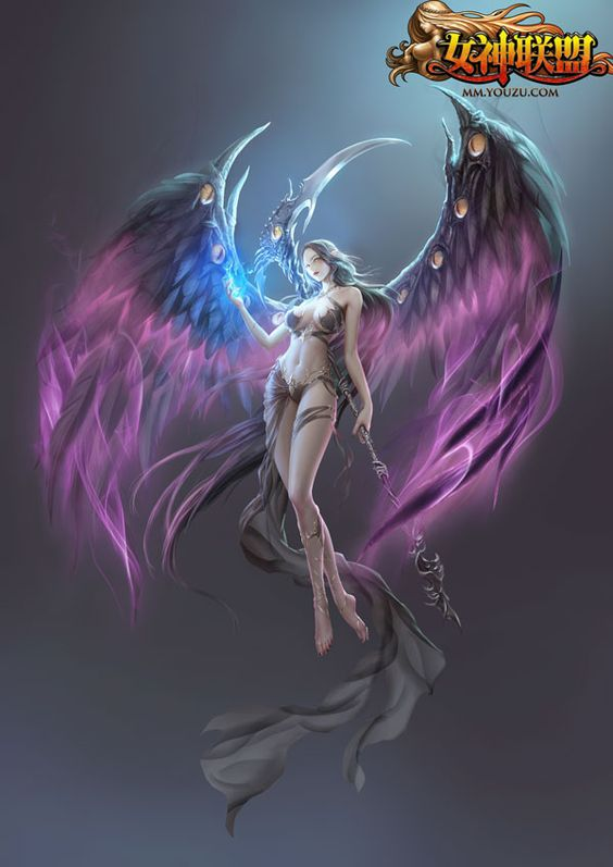 alecta league of angels pinterest