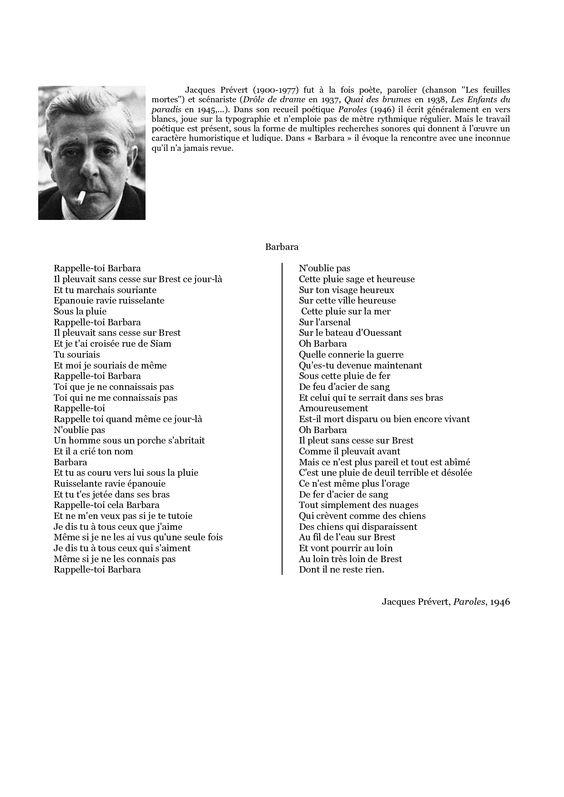 Le Message Jacques Prevert Explication Essay - image 2