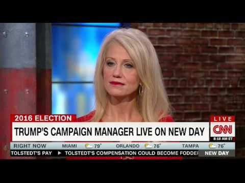 KELLYANNE CONWAY FULL INTERVIEW WITH ALISYN CAMEROTA CNN (9/13/2016)