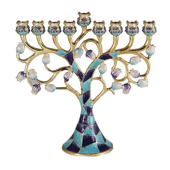 Chanukah Tree Menorah