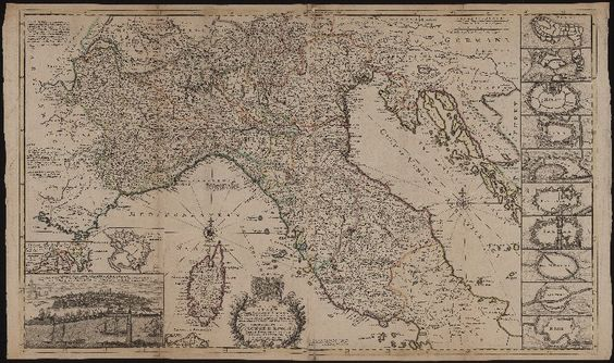 A new map of the upper part of Italy : containing ye Principality of Piemont, ye Dutchies of Savoy, Milan, Parma, Mantua, Modena, Tuscany, the Dominions of ye Pope &c. the Republiques of Venice, Genoe, Lucca &c.