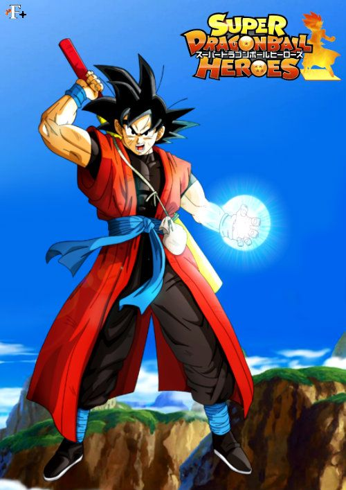 Goku Xeno Super Dragon Ball Heroes Dragon Ball Z Dragon Ball Super Dragon Ball
