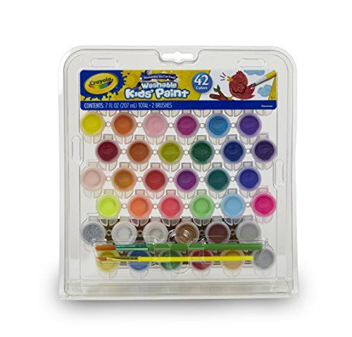 Crayola Kid S Washable Paint Set 42 Ct Gift For Kids Https