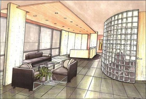Interiors Drawings And Hands On Pinterest