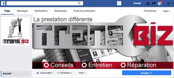 Bannière Facebook TranBiz