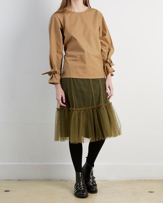 Yune Ho Anne Tully Skirt