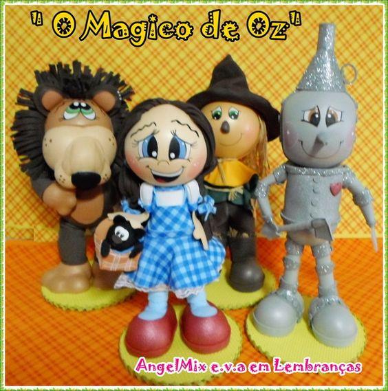 Kit Mágico de Oz (4 bonecos)